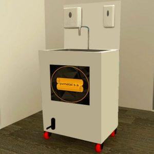 Lavamanos Portátil Autónomo para Cadenas Comerciales y Restaurantes