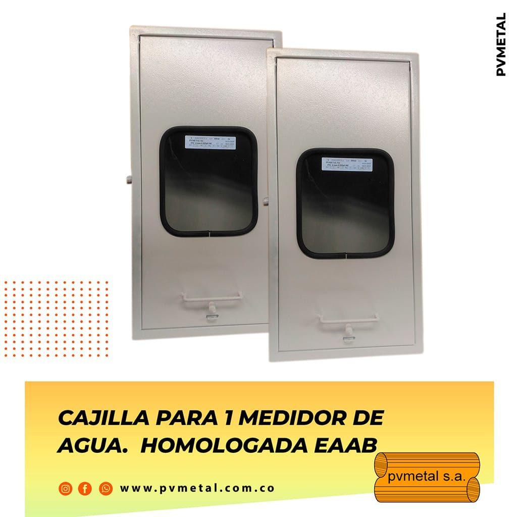 Cajilla 1 Medidor EAAB PVMETAL