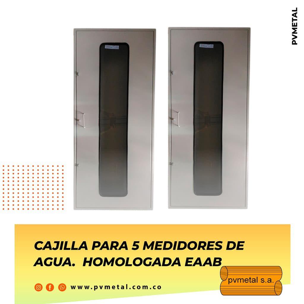 Cajilla 5 Medidores EAAB PVMETAL