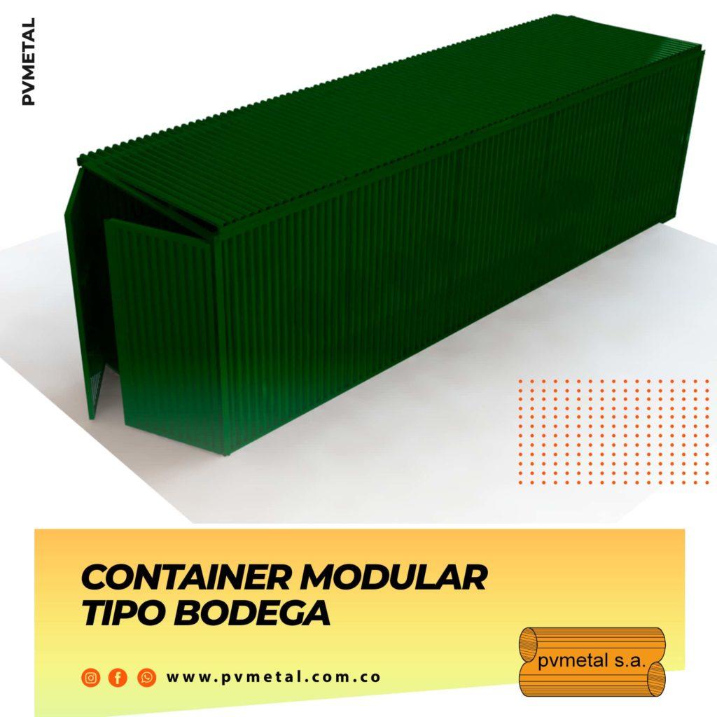 Contenedor Tipo Bodega PVMETAL S.A.