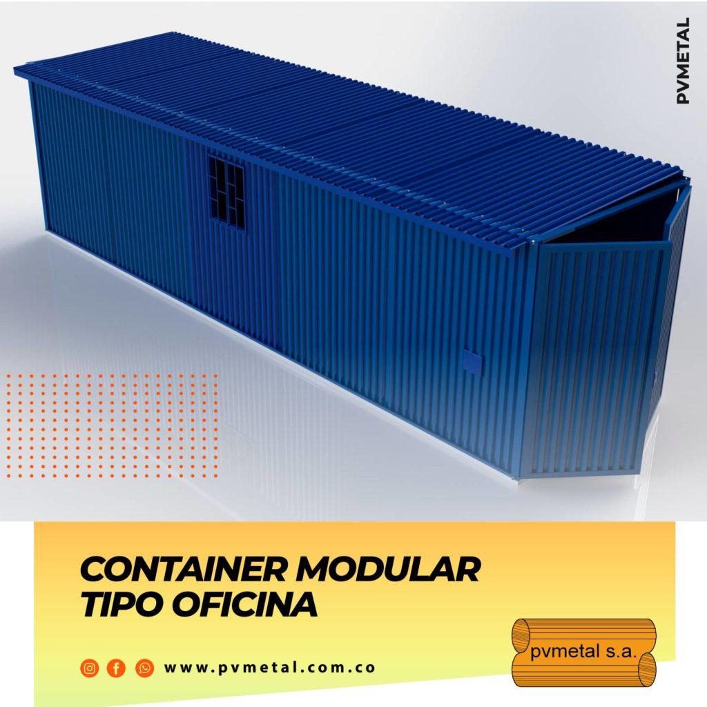 Contenedor Tipo Oficina PVMETAL S.A.