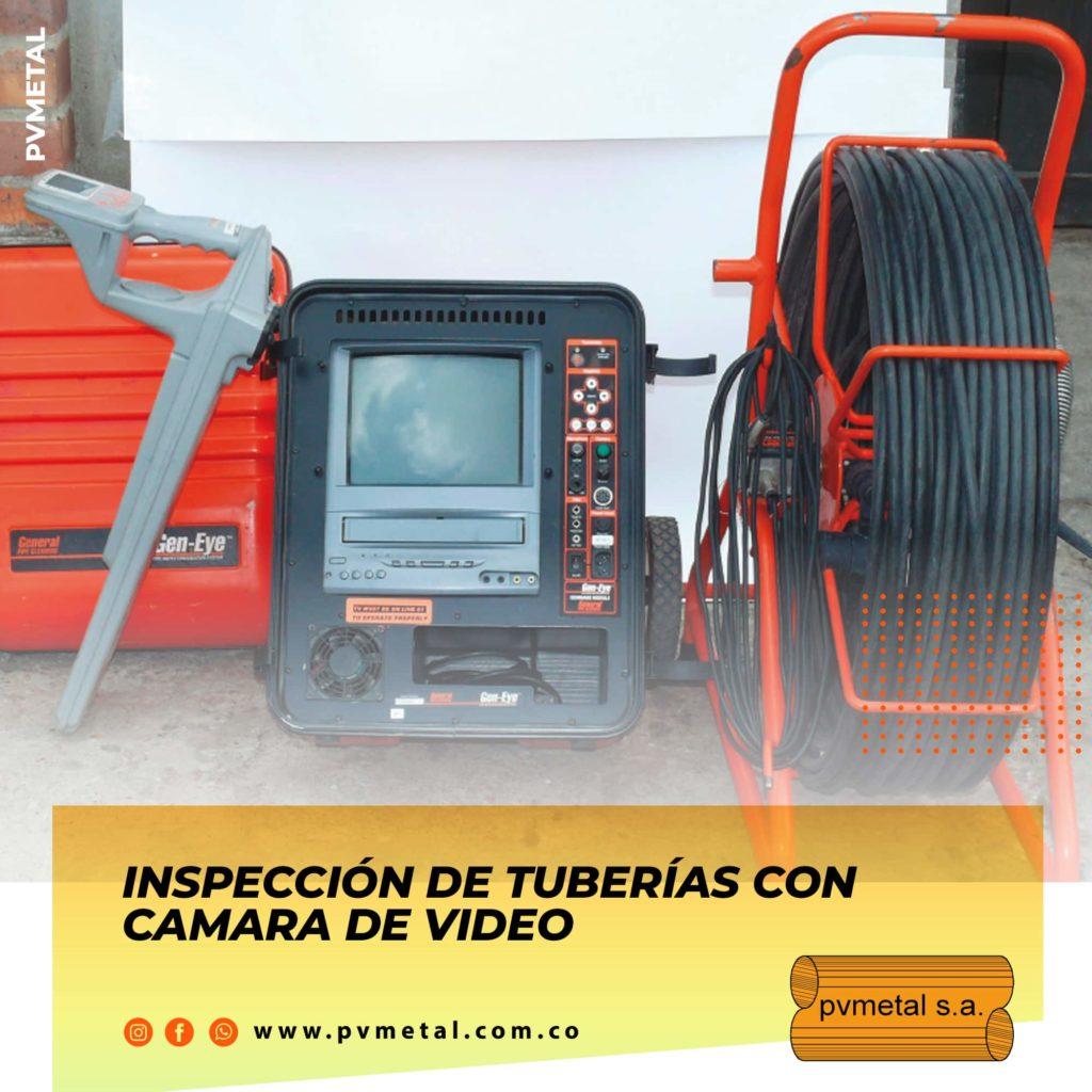 Inspección de Tuberías CCTV PVMETAL S.A.