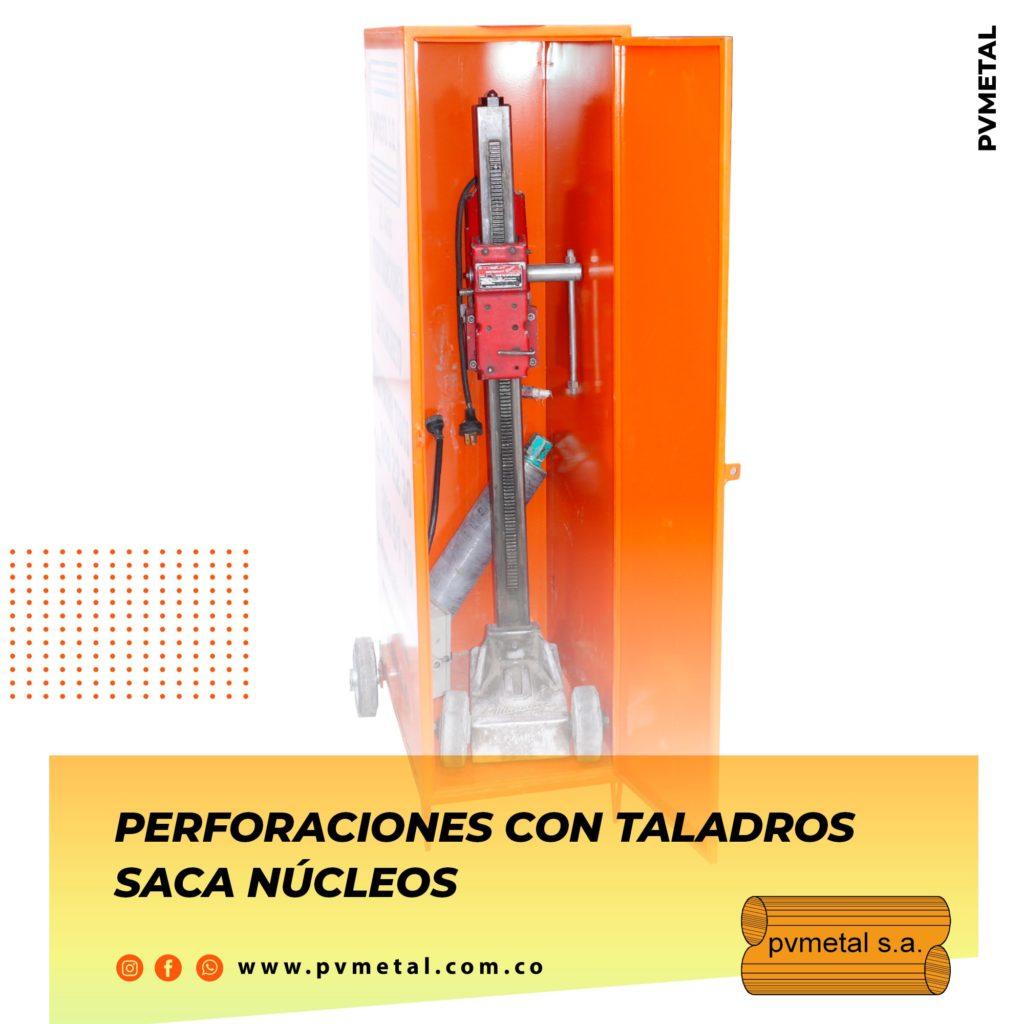 Perforaciones con Saca Núcleos PVMETAL S.A.